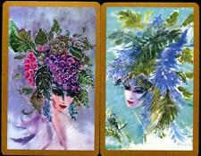 BEAUTIFUL SWAP CARDS OF AMERICAN LADY WITH STYLISH HAT BRAND NEW