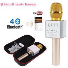 Gold Q9 KTV Karaoke Player Mikrofon Wireless Tragbar Microphone Lautsprech