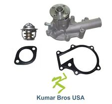 New Kubota B2301 B2320 B26 B2601 B2630 B2650 B3030 WATER PUMP with THERMOSTAT