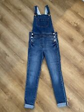 Boden Age 9-10 Years Girls Dungarees Blue Denim Immaculate