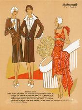 """20x30"""" CANVAS Decor.Room design art print..Nouveau Retro Vogue fashion.6175"""