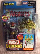 Marvel Legends Baron Zemo Mojo serie Vengadores Figura de acción con libro de historietas