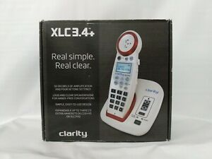 Clarity Professional XLC3.4+ Extra Loud Cordless Hearing Impaired Lighted Phone