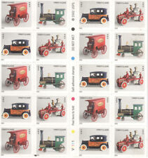 USPS Sheet 20 Stamps Antique Toys of Strong Museum Trucks Cars First Class 2002
