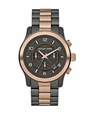 Michael Kors Stainless Steel Strap Watches with Chronograph