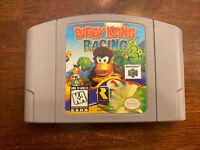 Diddy Kong Racing Nintendo 64 N64 Game Cartridge Donkey Kong Cleaned & tested