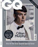 GQ Magazine British October 2017 Cillian Murphy NEW