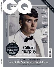 GQ Magazine British October 2017 Cillian Murphy Mark Hamill Nick Cave Sadiq Khan