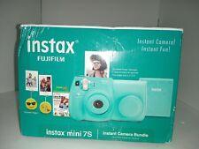 Fujifilm Instax Mini 7s Instant Camera Bundle: case film album - Seafoam Green