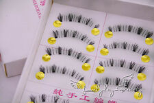 10 Pairs  Natural Under False Eyelashes Bottom Lower Eye lashes Handmade #81