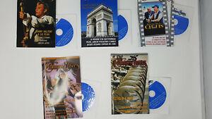 Champs-Elysées - French Audio Magazine -  Bundle of 5 Randomly Selected Issues