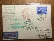 Luftpost 1. Südamerikafahrt Graf Zeppelin, Berlin - Buenos Aires