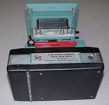 Tektronix C-30A Oscilloscope Camera w/ 016-0248-00 Adapter Frame & Film Back
