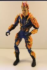 "Figure figurine 12"" FANTASTIC FOUR JOHNNY STORM HUMAN TORCH VINTAGE MARVEL"