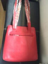 LEONHARD Heyden Donna Oslo City Shopper red 2203.005 BAG RRP £ 230