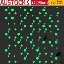 407pcs glow in the dark star wall stickers round dot luminous kids room EO