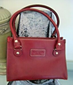 [L26] Kate Spade New York Red Leather Satchel Tote Style Handbag [CNTAuctions]