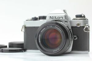 【 NEAR MINT++ 】 Nikon FE 35mm SLR Camera + Ai Nikkor 50mm f1.4 From Japan #422