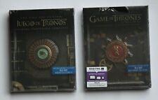 OVP / OoP / 2 * Limited Blu Ray Steelbook / Game of Thrones / Staffel 1 und 2