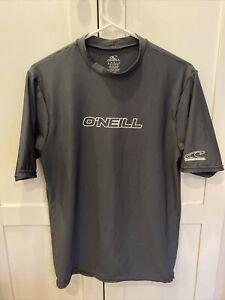 O'Neill Men's Gray Rash Guard Small