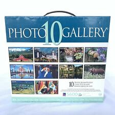 Photo 10 Gallery Views Animals 10 PICS Jigsaw Puzzles 5600 Only 1 Used 9 Sealed