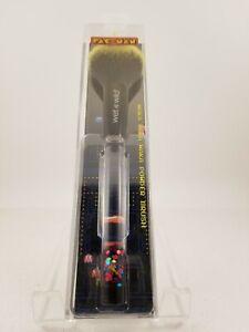 Wet n Wild Pac-Man Waka Waka Waka Eyeshadow Brush + Powder Brush~NIB~