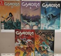 Gamora 1 2 3 4 5 Complete Set Series Run Lot 1-5 VF/NM