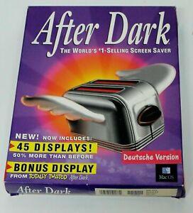 RARITÄT !! - After Dark Bildschirmschoner - Deutsch - Macintosh