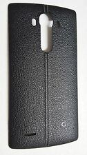 OEM LG G4 VS986 Back Cover Battery Door with  NFC - Verizon - Black Leather