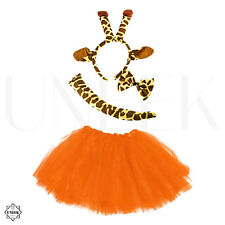 Kids Giraffe Tutu Fancy Dress Costume - Halloween Animal Costume & Accessories