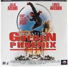 OPERATION GOLDEN PHOENIX LASERDISC Sealed NEW 90s Kickboxing Action LD Movie '94