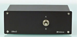 Dodocus UBox3 Verstärker- / Lautsprecherumschalter  - NEU -