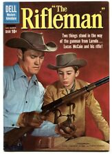 Rifleman #2 1960- Chuck Connors Dell Western VF+