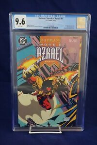 Batman: Sword of Azrael #1 Comic CGC Grade 9.6 (High Grade)