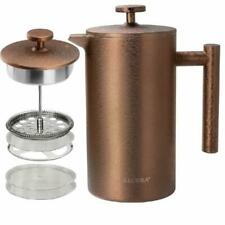 SECURA ~ FRENCH PRESS ~ COFFEE MAKER ~ 34oz / 1000ML STAINLESS STEEL 304 ~ NEW