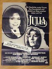 Filmposter * Kinoplakat * A1 * Julia * EA 1978 * Fred Zinnemann