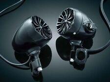 Kuryakyn 832 The Sound of Chrome Amp/Speaker GEN3 1 in. Handlebars - Gloss Black
