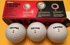 Wilson Ultra Straight Distance Golf Balls Brand New