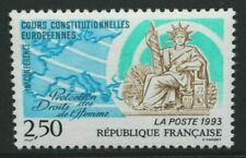 FRANCE 1993 Constitutional Court Conference on Human Rights. Set of 1 MNH SG3137