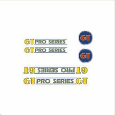 1985 GT BMX Pro Series decal set