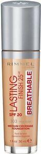 Rimmel London Lasting Finish 25Hr Breathable Foundation 303 True Nude 30ml