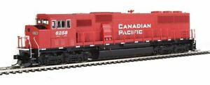 NIB EMD SD60M locomotive Road Canadian Pacific # 6258 with DCC & Sound