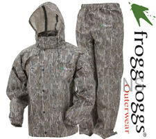 FROGG TOGGS RAIN GEAR-AS1310-50 ALL SPORT MO BOTTOMLAND CAMO MENS SUIT HUNTING