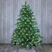 Mantello Rete Minilucciole Per Albero Di Natale 320 Luci Led Bianco Freddo dfh