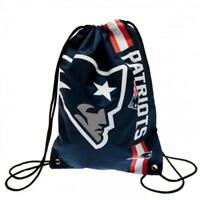 New England Patriots Gym Bag Blue PE NFL Fan Gift New Official Licensed Product
