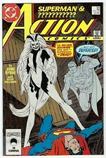 Action Comics # 595 VF+ DC 1987 1st Appearance Of The Silver Banshee