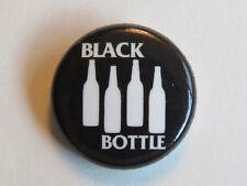 BEER BUTTON Pinback ~ BLACK BOTTLE ~ Ft Collins, COLORADO ~ 4 Bottles Black Flag