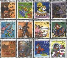 Francia 2982-2993 (edición completa) usado 1993 Grußmarken
