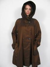 MYCRA PAC NOW USA DONETTELA REVERSIBLE HOOD MID BLACK RAIN JACKET COAT~(2) M/L