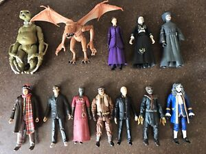12 x DOCTOR WHO FIGURES BUNDLE - Missy , Rare Scarecrow , 4th Doc in Scots etc